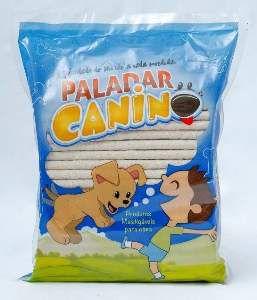Osso palito natural 1kg - Paladar Canino - 8mm
