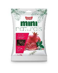 Snacks mini naturals health 60g - Bassar Pet Food - roma e alecrim