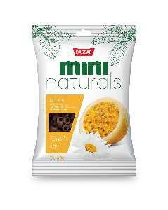 Snacks mini naturals relax 60g - Bassar Pet Food - maracuja e camomila