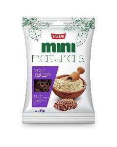 Snacks mini naturals vigor 60g - Bassar Pet Food - quinoa e amaranto