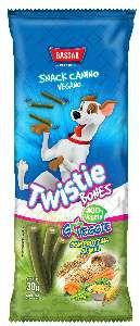 Snacks Twistie Canino Vegano - Bassar - 30 g