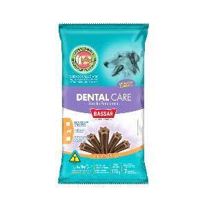 Snacks dental care racas medias 170g - Bassar Pet Food - com 7 unidades