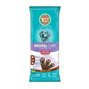 Snacks dental care racas grandes 120g - Bassar Pet Food - com 3 unidades