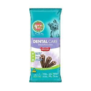 Snacks dental care racas pequenas 45g - Bassar Pet Food - com 3 unidades