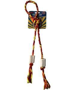 Cordosso sininho com corda - Club Pet Churraspet - 43cm