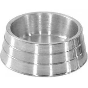 Comedouro aluminio pesado G 1600ml - Henrimar Rogerio - 9x26cm