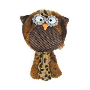 Brinquedo pelucia coruja - American Pet's - 28x16x6cm