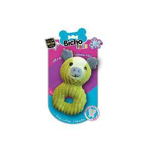 Brinquedo pelucia coelho soft pet - American Pet's - 17x10x6cm