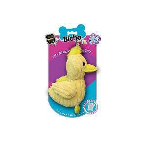 Brinquedo pelucia pato soft pet - American Pet's - 19x14cm