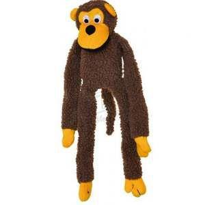 Brinquedo pelucia macaco - Club Pet Import - 40x15cm