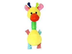 Brinquedo pelucia pato com mordedor - Savana - 27,9cm