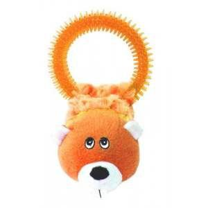 Brinquedo pelucia esquilo com mordedor laranja - Savana - 38,1cm