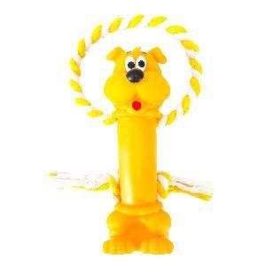 Brinquedo vinil cao poste - Club Pet Nicotoys - 27x5cm