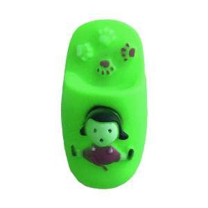 Brinquedo vinil chinelo cores diversas - Home Pet - 9,5cm