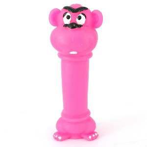 Brinquedo vinil macaco poste - Club Pet Nicotoys - 27x5cm