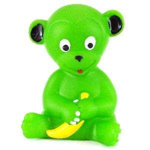 Brinquedo vinil macaco - Club Pet Nicotoys - 9,5x7cm