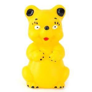 Brinquedo vinil esquilo - Club Pet Nicotoys - 11x7cm