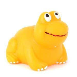 Brinquedo vinil sapo - Club Pet Nicotoys - 9x7cm