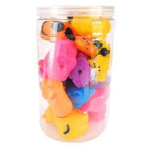 Brinquedo vinil zoologico - Club Pet Nicotoys - com 20 unidades - 15x14cm