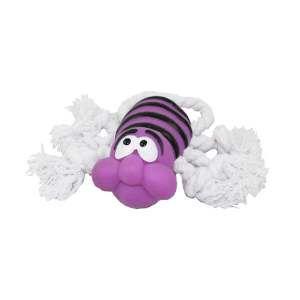 Brinquedo vinil abelha com corda - Club Pet Nicotoys - 20x7cm