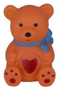 Brinquedo vinil urso - Napi - 10 cm