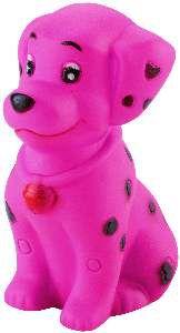 Brinquedo vinil cachorro com pintas - Napi - 10 cm