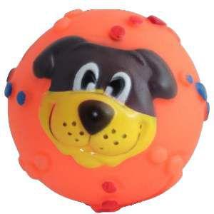 Brinquedo vinil cara cachorro - Napi - 8 cm