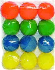 Brinquedo vinil bola lisa taco - Luna & Arreche - display com 12 unidades - 6cm