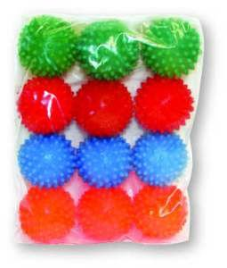Brinquedo vinil bola cravo pequeno - Luna & Arreche - display com 12 unidades - 5cm
