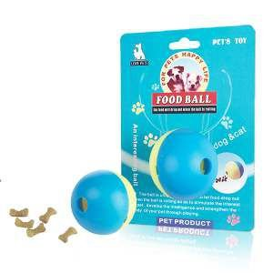 Brinquedo borracha bola adestradora para racao vermelha P - Savana - 11cm