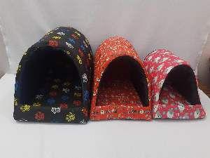Cama tecido iglu kit - ANK Camas - com 3 unidades - 55x38x40cm