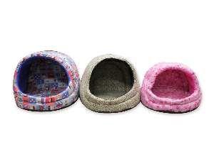 Cama tricoline iglu luxo - Club Pet Chickao - com 3 unidades