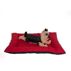 Colchonete futon com borda N2 - Club Pet Chickao - 55x40x12cm