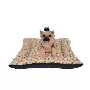 Colchonete futon com borda luxo N3 - Club Pet Chickao - 65x50x13cm