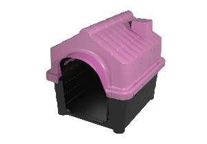 Casa plastica home class N2 rosa - MEC PET - 51x43x42cm