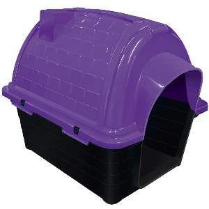 Casa plastica iglu N2 - Lilas - Furacao Pet - 54x42x47cm