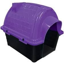 Casa plastica iglu N4 lilas - Furacao Pet - 67x50x58cm