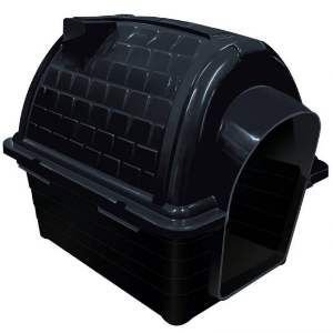 Casa plastica iglu N4 black - Furacao Pet - 67x50x58cm