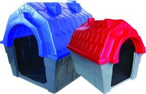 Casa Plástica Nº 1 - Plast-Kão - Vermelha - (41 cm x 50 cm x 54 cm)