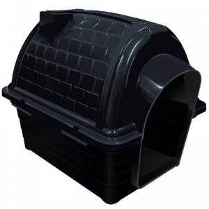 Casa plastica iglu N5 - Black - Furacao Pet - 100x75x82cm