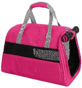 Bolsa de transporte poliester rosa - Sak's - 45x32x30cm