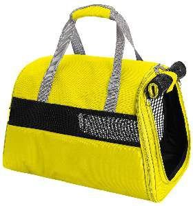 Bolsa de transporte poliester amarelo - Sak's - 45x32x30cm