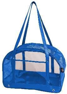 Bolsa de transporte PVC cristal azul - Sak's - 45x30x25cm
