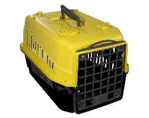 Caixa de transporte podyum N1 amarela - MEC PET - 42x32x28cm