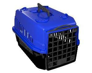 Caixa de transporte podyum N1 azul - MEC PET - 42x32x28cm
