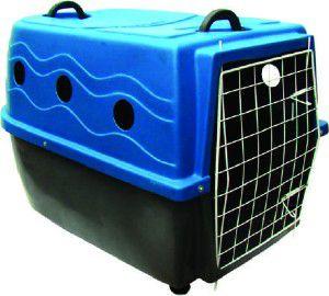 Caixa de Transporte Nº 4 - Plast-Kão - Azul - (61 cm x 54 cm x 92 cm)