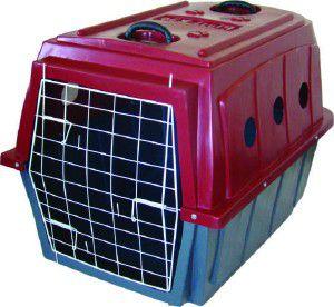 Caixa de Transporte Nº 5 - Plast-Kão - Azul - (77 cm x 78 cm x 107 cm)