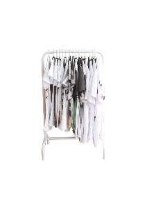 Expositor aco arara para camisetas - Club Pet Dantas - 97x60cm