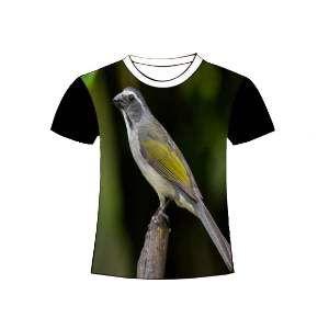 Camiseta poliester trinca ferro M - Club Pet Dantas - 64x50cm