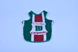 Regata poliester Fluminense PP - Club Pet Chickao - 38x51cm